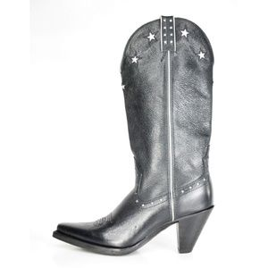 Twisted X Women's Black Western Star Boots NEW